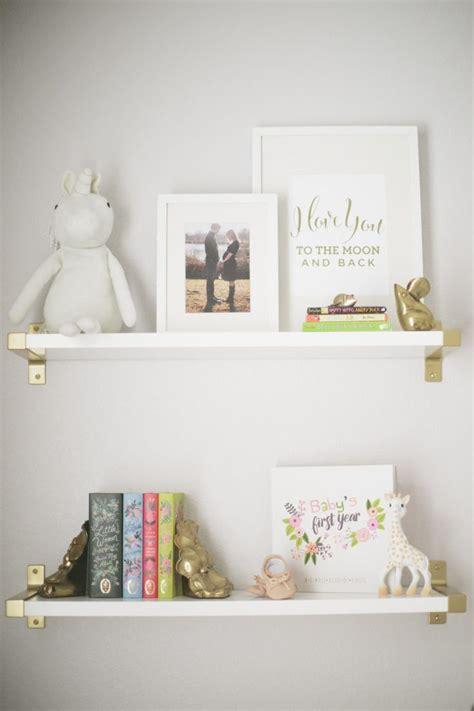 nursery floating shelves 25 best ideas about nursery shelving on 1118