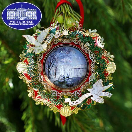 2013 white house woodrow wilson christmas ornament