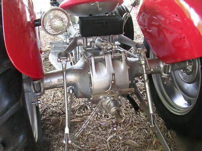 harry ferguson   tractor restored