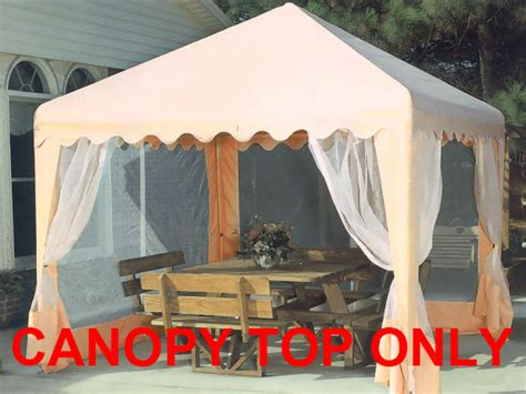 replacement top  screens   garden party canopy  king canopy