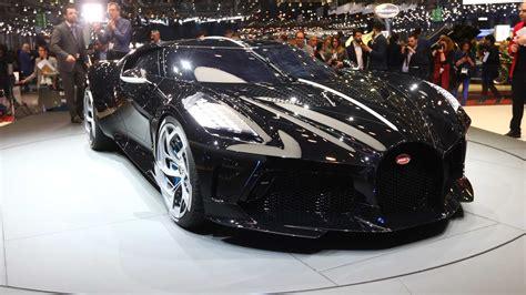 geneva bugatti la voiture noire debuts modcarmag