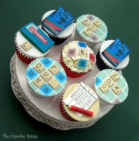 scrabble board game cupcakes scrabble cakes