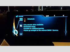 Living With the BMW I3 #12 Drivetrain Error YouTube