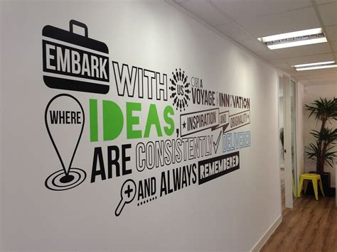 Wall Mural Ideas Office by Branded Office Wall Mural On Behance Work Space In 2019