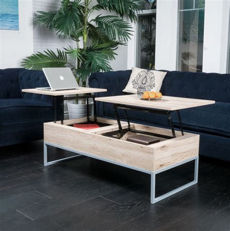 Lift top coffee tables reviewed in detail 2020. Double Lift Top Coffee Table in Regal Walnut   Roy Home Design