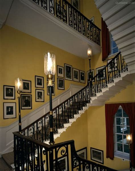 main staircase   downing street stairway design