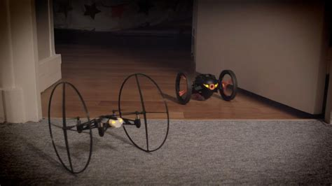 parrot minidrones jumping sumo rolling spider youtube