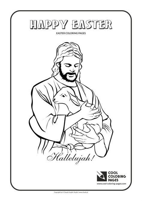 cool coloring pages jesus christ  lamb coloring page
