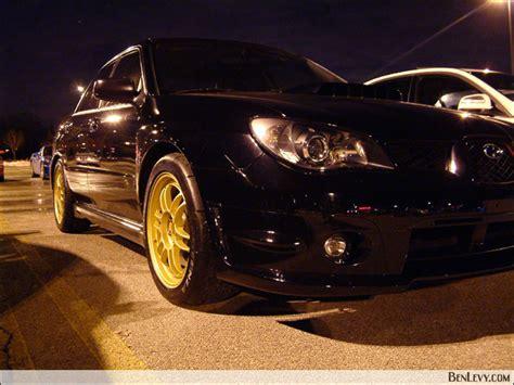 black subaru gold rims subaru wrx with gold wheels benlevy com