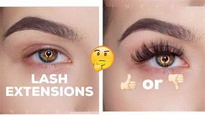 EYELASH EXTENSIONS: The good, bad, and UGLY!! | KatEyedTv ...