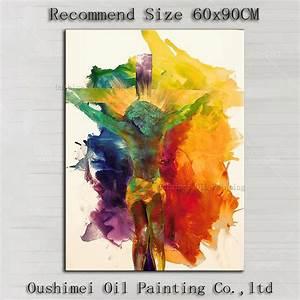 Achetez en Gros jésus toile peinture en Ligne à des