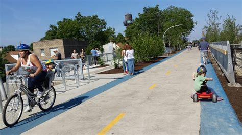 Elevated Bloomingdale Trail, Pulse Of 'the 606,' Opens To
