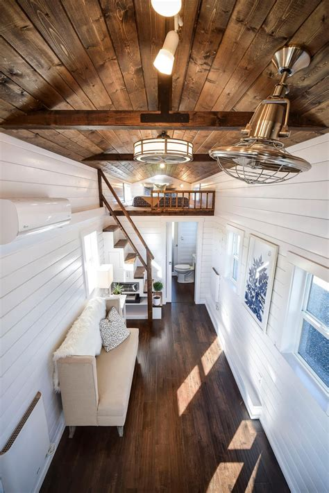 tiny house town  loft edition  mint tiny house company