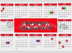 El calendario laboral de 2019 establece que el 7 de enero