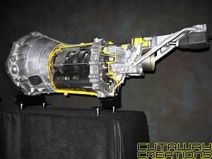 Nissan 350z 6 Speed Manual Transmission  U2013 Cutaway Creations