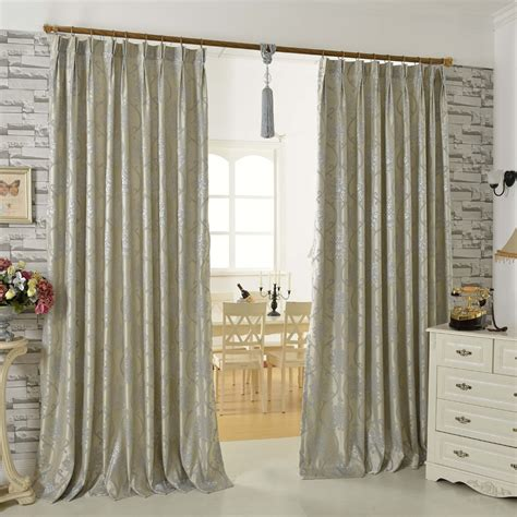 gray floral curtains gray floral jacquard artificial fiber modern curtains for
