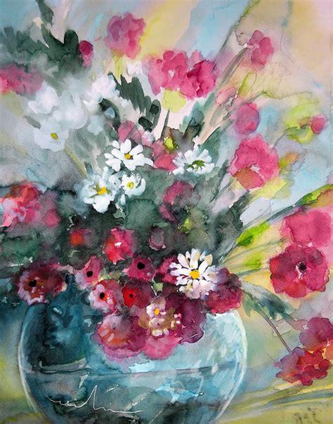 peinture de fleurs moderne mikis de goodaboom gallery of flowers and still paintings