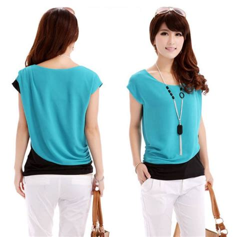 summer blouse chiffon blouse sleeve shirt t shirt