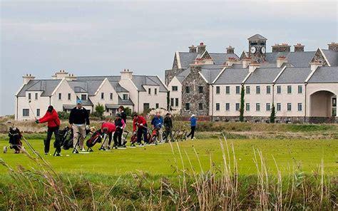 trumps irish golf    year  date