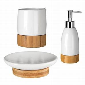 earth white dolomite wooden bamboo base bathroom With branded bathroom fittings