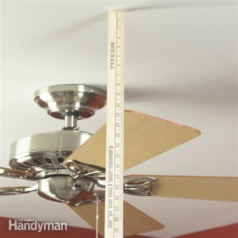 How To Balance A Ceiling Fan The Family Handyman