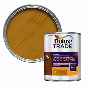 Dulux Trade Light Oak Satin Wood Stain  1l