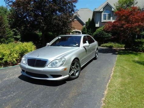 how to sell used cars 2006 mercedes benz s class parking system sell used 2006 mercedes benz s430 amg in milford michigan united states