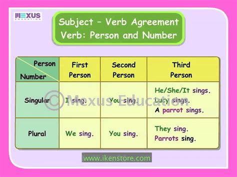 subject verb agreement exercises for class 10 subject
