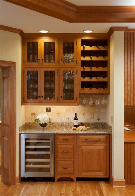 Wine Bar Design For Home by Bar Idea The Wine Bottle Holder And The Stemware Slots