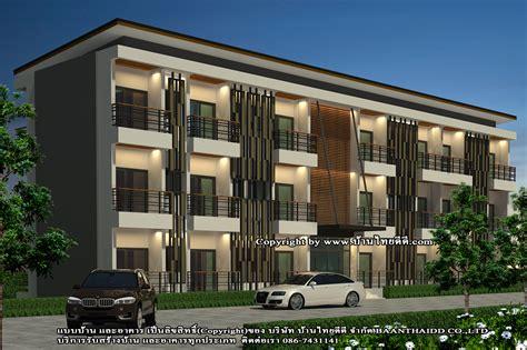 แบบก่อสร้างโรงแรม3ชั้นโมเดิร์น Modern Style - แบบบ้าน แบบอพาร์ทเม้นท์ แบบอาคารพาณิชย์ แบบ ...
