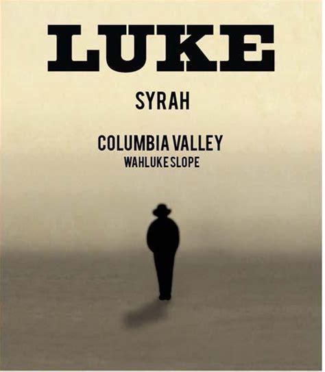 syrah luke wines wahluke slope washington usa