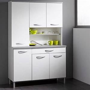 Buffet De Cuisine : buffet de cuisine smarty 120cm blanc ~ Teatrodelosmanantiales.com Idées de Décoration