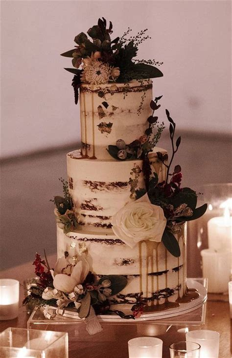 60 Gorgeous And Simple Rustic Wedding Cakes You Would Love