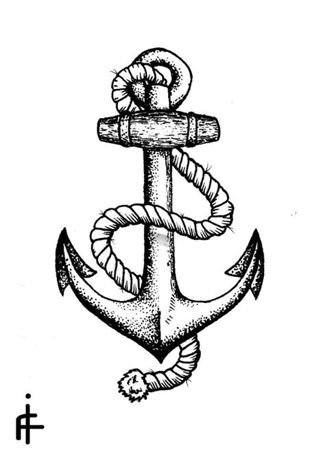 Navy Anchor Drawing at PaintingValley.com | Explore collection of Navy Anchor Drawing