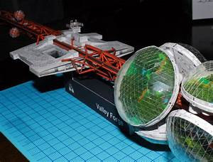 Valley manufacturing large-scale immigration spacecraft ...