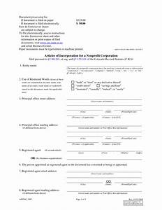 articles of incorporation template free With articles of incorporation georgia template