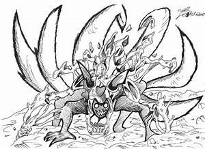 Naruto Nine Tails by Firefenixss on DeviantArt