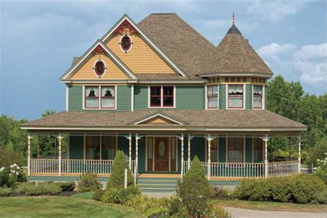 eye catching trim paint color ideas for ornate victorian houses this house