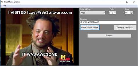 4 meme maker software for windows 10