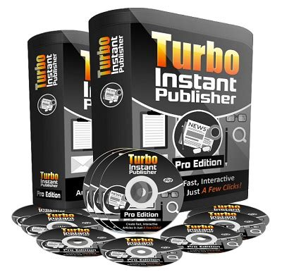 Turbo Instant Niche Templates by Turbo Instant Publisher Pro