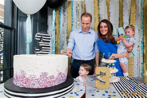 prince georges birthday party pictures revealed