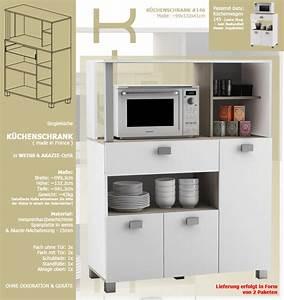 Küchenschrank Für Mikrowelle : k chenschrank 146 schrank k chenregal k chenm bel ~ Sanjose-hotels-ca.com Haus und Dekorationen