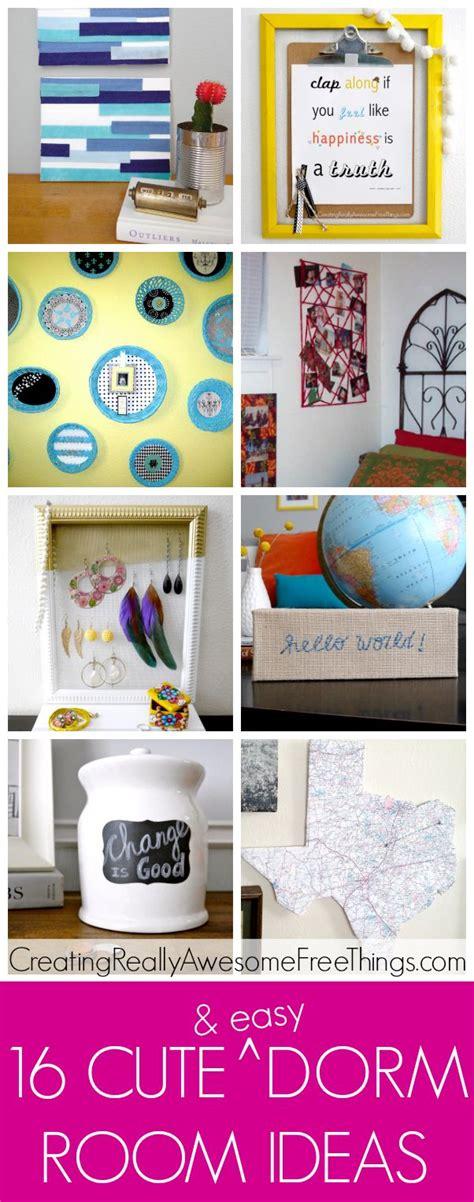 16 Cute Dorm Room Ideas  Cute Dorm Rooms, Dorm Room