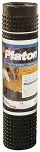 platon 44 1 2 quot x 50 flooring protector underlayment at