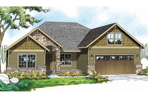 Craftsman House Plans  Cascadia 30804  Associated Designs