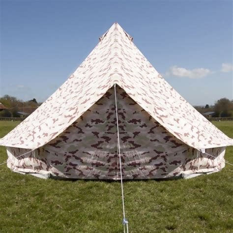 camo bell tent with zipped in ground sheet tents from boutique cing uk
