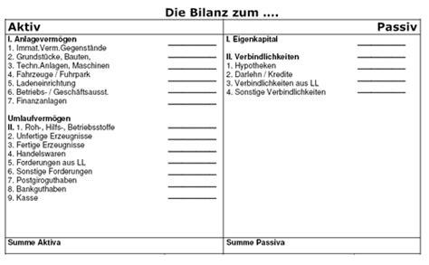 bilanz muster bilanz vorlage wie sieht eine bilanz aus