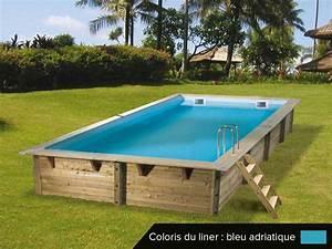 Piscine Bois Ubbink : piscine bois ubbink linea 6 50 x 3 50 x 1 40 m ~ Mglfilm.com Idées de Décoration