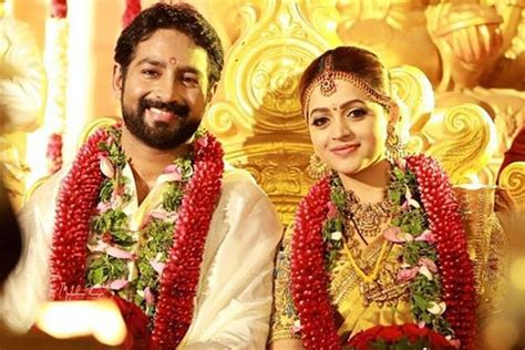 bhavana marriage popular malayalam actress weds naveen