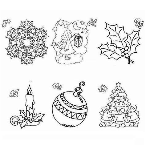 immagini colorate bellissime simboli di natale disegno di natale da colorare disegni